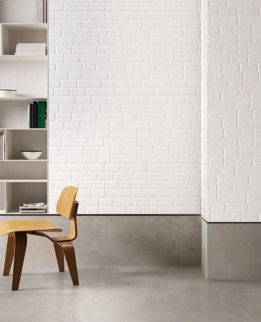 Sant Agostino - Set - Set Wall White 15x90
